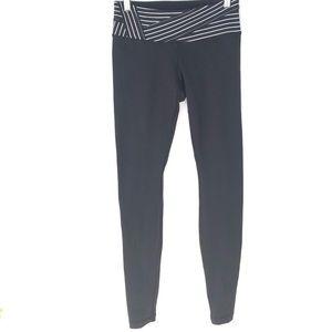 Lululemon Reversible Black Striped Leggings 4
